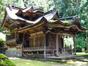 越前和紙産地のお膝元 全国で唯一、紙祖神を祀る