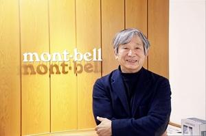 モンベルの辰野勇会長=大阪府大阪市のモンベル本社ANNEX店