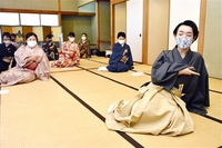 日舞20歳師範 地元で指南 子供歌舞伎経験 大河ドラマ出演 福井出身 花柳さん 「伝統芸能 触れる機会を」