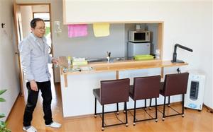 要介護の高齢者や生活困窮者らさまざまな人が垣根なく入所できる「在郷の家」=福井県坂井市三国町