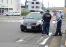 【一報】集団登校の列に車衝突