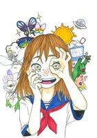 最優秀賞に輝いた石田萌乃花さんの作品