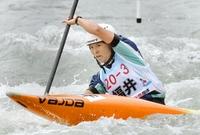 カヌー伊藤由佳がスラローム2冠