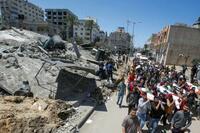 パレスチナ死者150人に