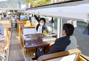 レストランバス、敦賀市で…