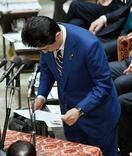 首相、辻元氏へのやじを謝罪