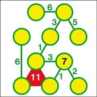 【3分チャレンジ】数つなぎ穴埋めパズル