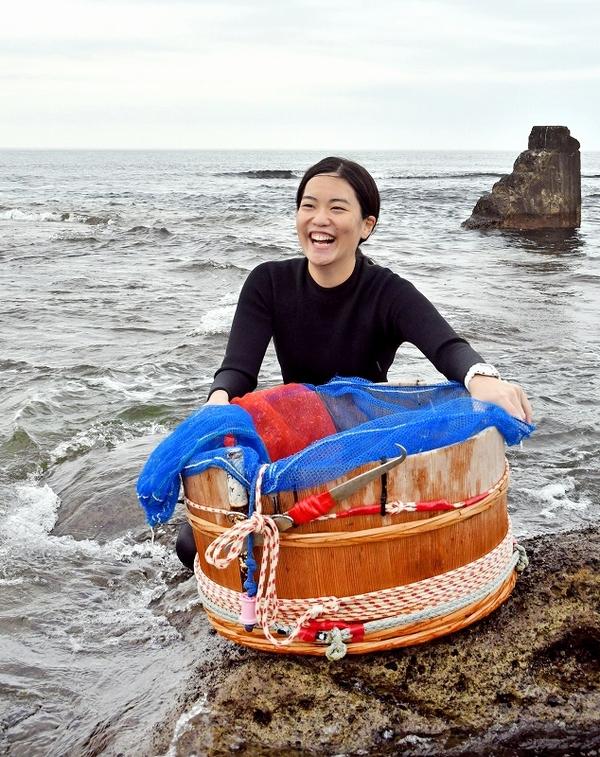 故郷で24歳女性海女さんデビュー 「海女はあこがれ」大好きな三国の海 ...