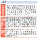 競泳 拠点も閉鎖影響懸念 延期の余波_東京五輪…