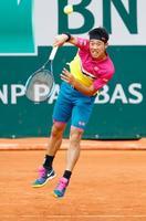 全仏テニス、錦織は2回戦に進出