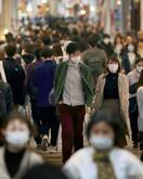 買い物客依然多い繁華街も、大阪