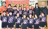 バレーボール 社南ジュニア女子(福井) 個性伸ばし攻守安定 チーム一丸、目標は全国 ハツラツキッズ