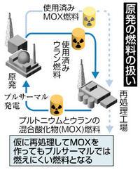 再利用は節約効果疑問 一般炉で燃えにくく 高浜原発取り出し使用済みMOX