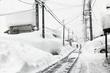 9時間かけ自宅除雪、元の木阿弥