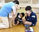 高浜小生、犬と触れ合い命を学ぶ