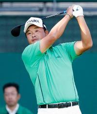男子ゴルフ、小田孔明が首位発進
