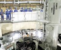 もんじゅ原子炉の燃料取り出し開始