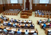 辺野古移設賛否で県民投票条例案
