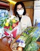 花と食品 一緒にどうぞ 越前市内外7店 宅配サ…
