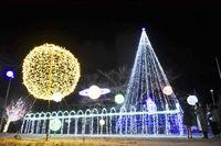 区民の力結集3万球LEDイルミ