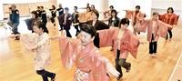 漆掻き唄踊り復活 鯖江の民謡、漆器作り過程を表現 25日一般練習、来月祭りで披露