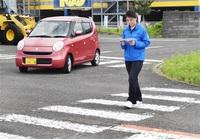 児童列に車 福井の事故受け 危険の芽 高齢者理解 小浜署、自動車学校で講習 マイカー使い実践的