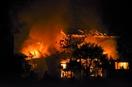 小浜で小屋全焼、放火疑い男逮捕