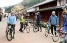 観光しながら鯖街道を自転車旅