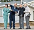 両陛下、9月の地震被災者励ます