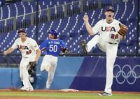 日本、決勝は再び米国戦