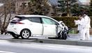 高校生の車など多重事故、3人重傷