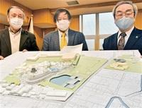 一筆啓上茶屋 移転先2案 坂井市 丸岡城周辺計画委が提示