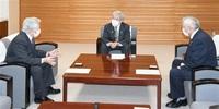 「再稼働 早期議論を」 町会議長、県会議長に要望 美浜・高浜 40年超原発