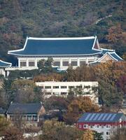 韓国大統領府=22日(共同)