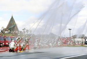 南越の消防活動発展へ誓い…