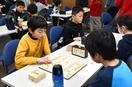 将棋の県小学生名人戦で立藏君優勝