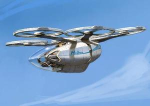 25年大阪・関西万博でのデモ飛行を目指す「空飛ぶ車」のイメージ(近畿経済産業局提供)