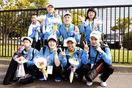 リレー2種目、福井初出場で準V 水泳3日間で「金…