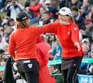 ゴルフの3ツアーズ、女子が優勝