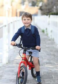 ルイ英王子、3歳に