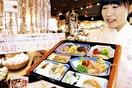県内17市町の食材盛り込み弁当