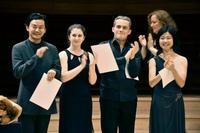 バイオリン部門、金川さんが2位