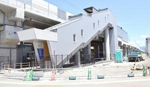 えちぜん鉄道の新しい新福井駅舎