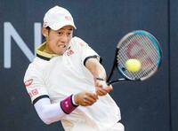 男子テニス錦織、西岡1回戦敗退