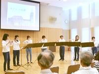 フルート音色温か100人の聴衆を魅了 鯖江で演奏会