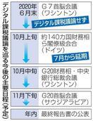 G7、デジタル課税協議を見送り