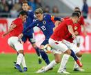 サッカー、日本がボリビアに勝利