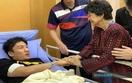 桃田賢斗選手、現地で病院ベッドに