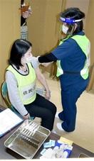 ワクチン接種 課題洗い出し 若狭町で合同訓練
