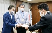 ワクチンで鯖江市会要望 市長に 待ち時間短縮など